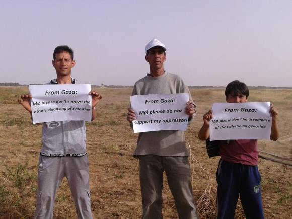 "Gaza Farmers to MØ: ""Don't be an accomplice in Israel's genocide."""